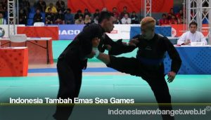 Indonesia Tambah Emas Sea Games