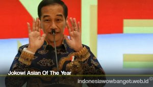 Jokowi Asian Of The Year